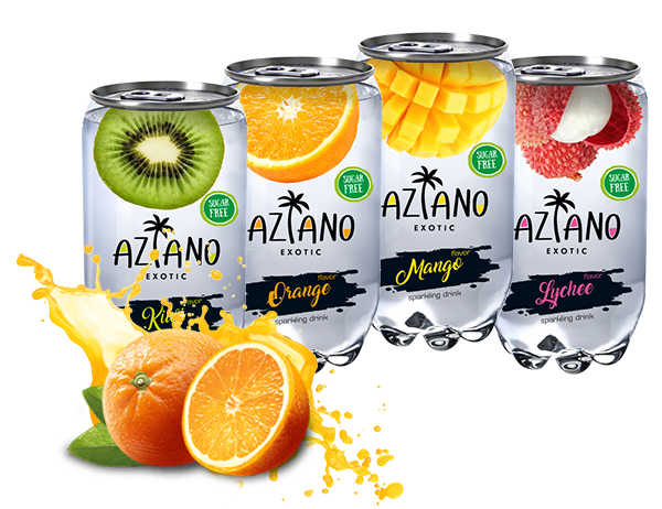 Aziano sparkling drink